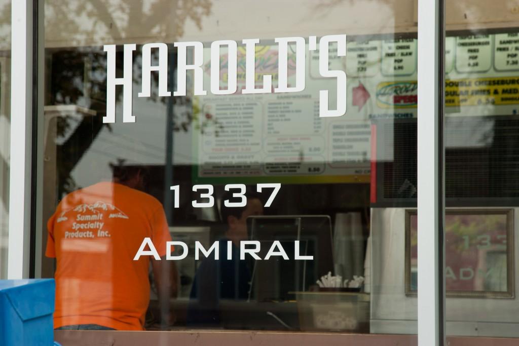 harolds drive in